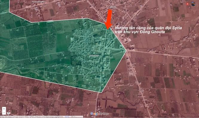 Vệ binh Syria mở rộng vùng giải phóng ở ngoại vi Damacus ảnh 1