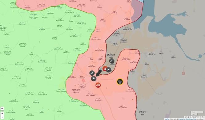Chiến sự Syria: Quân Assad lại thất bại, IS cắt đứt đường tiếp vận đến Aleppo ảnh 1
