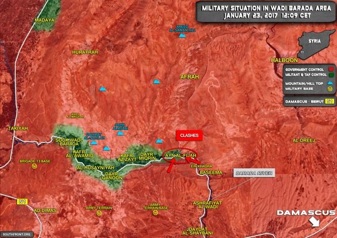 2.600 chiến binh Syria nộp súng đầu hàng ở ngoại ô Damascus ảnh 1