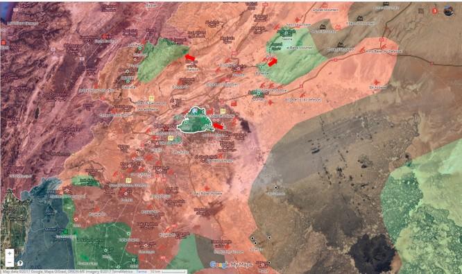 Toán quân IS tan xác trong trận phục kích tên lửa ảnh 1