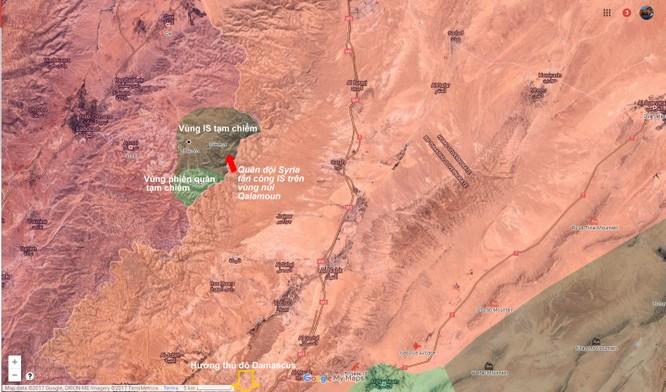 Quân đội Syria diệt hàng chục tay súng IS vùng ngoại ô Damascus ảnh 1