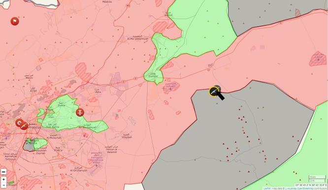 Chiến sự Syria: IS bất ngờ tấn công sân bay ngoại ô Damascus ảnh 1