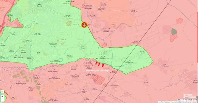 Vệ binh Syria giải phóng 1 làng, uy hiếp phiến quân ở Đông Ghouta ảnh 1