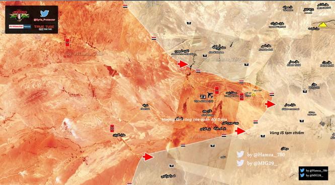 """""""Diều hâu Sa mạc"""" Syria tấn công IS ở sa mạc Homs ảnh 1"""