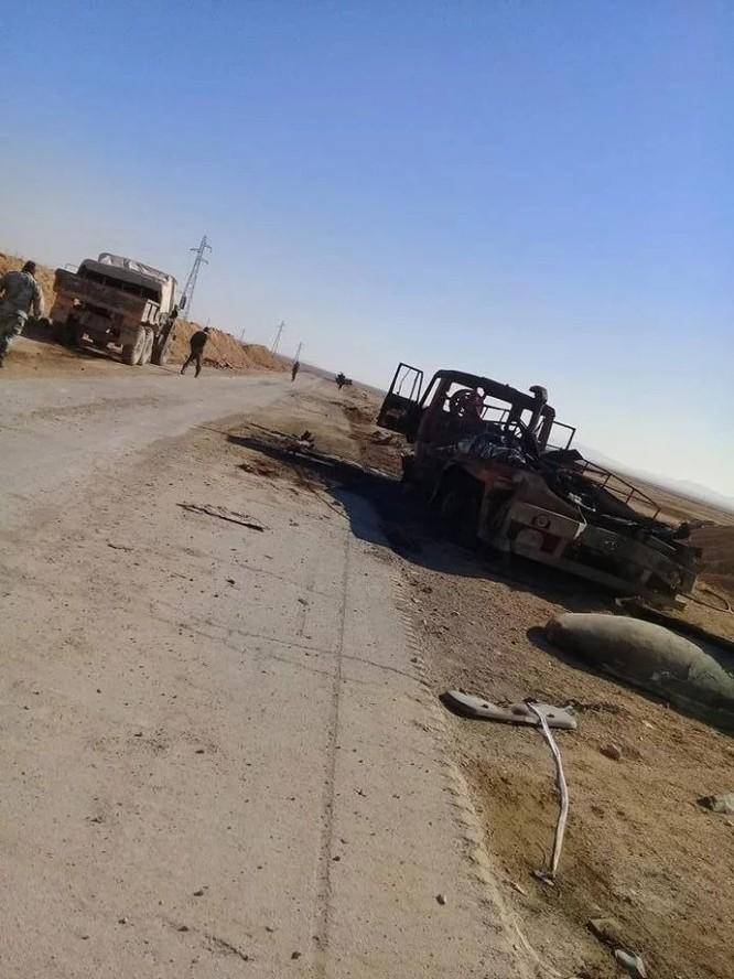 Chiến sự Palmyra: Quân đội Syria sắp khai hỏa đoạt lại khu mỏ khí chiến lược ảnh 6