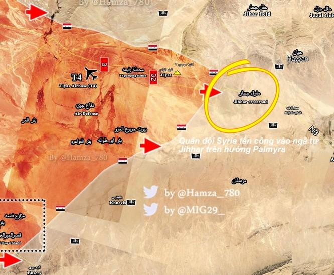 Quân đội Syria đánh chiếm địa bàn chiến lược từ tay IS tại Palmyra (video) ảnh 1
