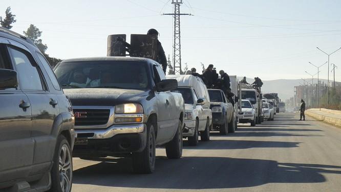 Quân đội Syria bẻ gãy cuộc tấn công của IS ở ngoại ô Damascus ảnh 4