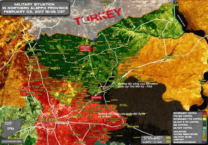 Chiến sự Syria: Liên quân Thổ Nhĩ Kỳ chiếm được cứ điểm IS, tiến sát Al-Bab ảnh 1