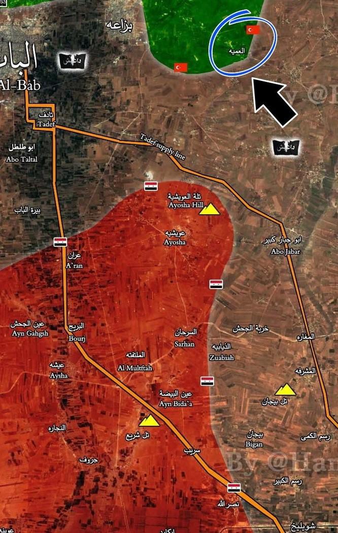 Quân đội Syria bóp nghẹt phiến quân IS cố thủ tại Al-Bab (video) ảnh 1