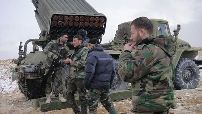 Chiến sự Syria: Phiến quân IS thảm bại tại ngoại ô Damascus (video) ảnh 4