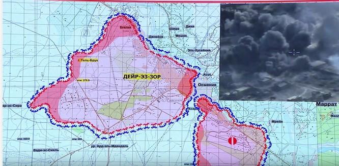 Trận chiến Deir Ezzor: Tướng Syria đốc trận bảo vệ sân bay chiến lược (video) ảnh 1