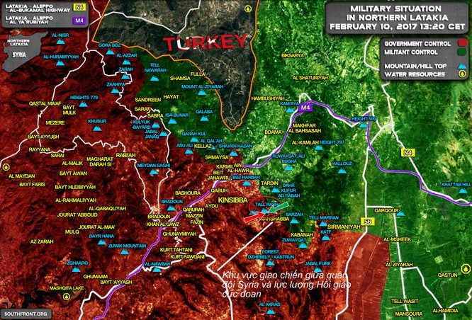 Video: Quân đội Syria đánh bật phiến quân, tái chiếm cứ điểm ở Latakia ảnh 1