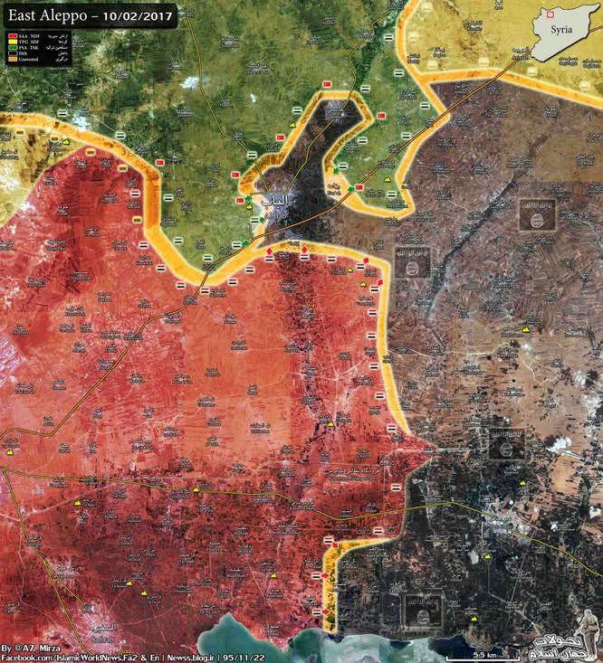 """Chiến sự đông Aleppo: """"Hổ Syria"""" tung đòn đánh sào huyệt IS ảnh 1"""