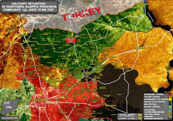 """""""Hổ Syria"""" tấn công chiến lược, ồ ạt phóng tên lửa đánh IS ở đông Aleppo ảnh 2"""