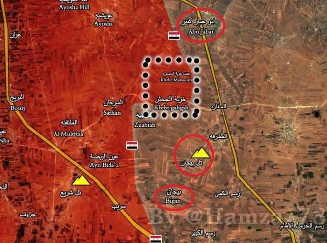 """""""Hổ Syria"""" tấn công chiến lược, ồ ạt phóng tên lửa đánh IS ở đông Aleppo ảnh 1"""