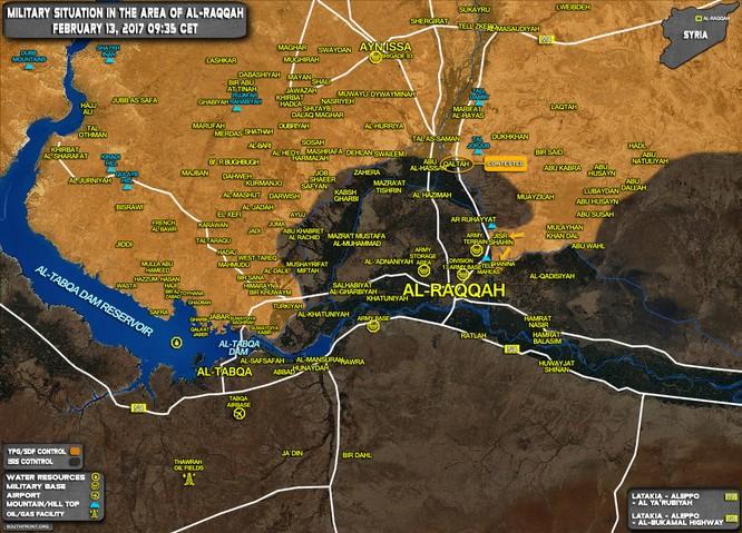 """IS đánh lui dân quân người Kurd ở """"thủ đô"""" Raqqa ảnh 1"""