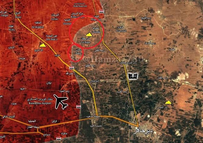 """""""Hổ Syria"""" thần tốc đánh chiếm 6 làng và 1 cao điểm IS ở đông Aleppo ảnh 1"""