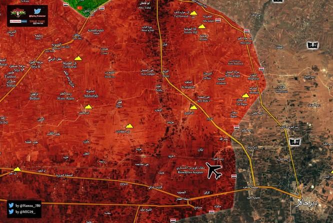"""""""Hổ Syria"""" thần tốc đánh chiếm 6 làng và 1 cao điểm IS ở đông Aleppo ảnh 2"""