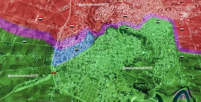 Chiến sự Syria: Quân Assad thất bại, mất hơn nửa quận vào tay phiến quân ở Daraa ảnh 1