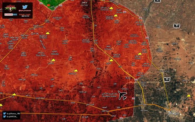 """Chiến sự đông Aleppo: """"Hổ Syria"""" tốc chiến chiếm 6 địa bàn IS trong 3 ngày ảnh 2"""