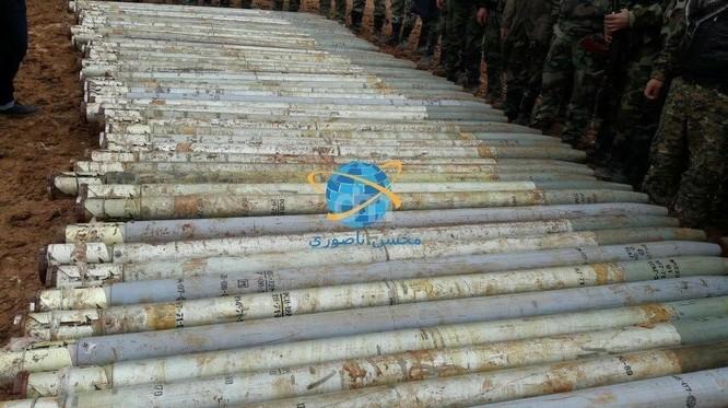 Quân đội Syria thu lượng vũ khí khủng al-Qaeda chuyển cho IS ảnh 2