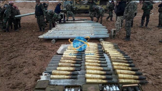 Quân đội Syria thu lượng vũ khí khủng al-Qaeda chuyển cho IS ảnh 3