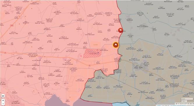 """Chiến sự đông Aleppo: """"Hổ Syria"""" tốc chiến chiếm 6 địa bàn IS trong 3 ngày ảnh 3"""