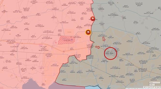 """Chiến sự đông Aleppo: """"Hổ Syria"""" tốc chiến chiếm 6 địa bàn IS trong 3 ngày ảnh 4"""