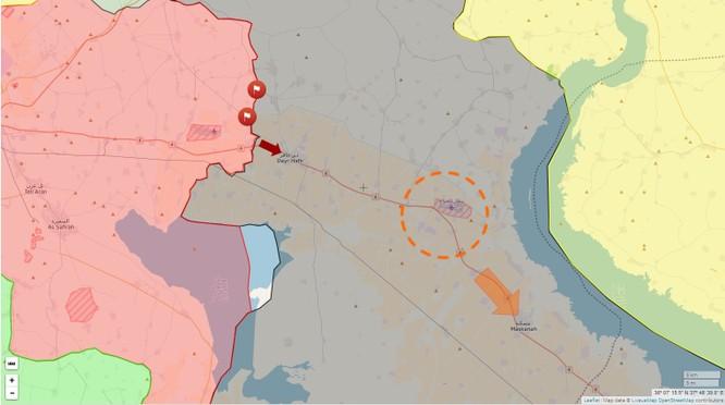 """""""Hổ Syria"""" dồn dập tấn công IS, sắp chiếm thị trấn chiến lược ở đông Aleppo ảnh 1"""