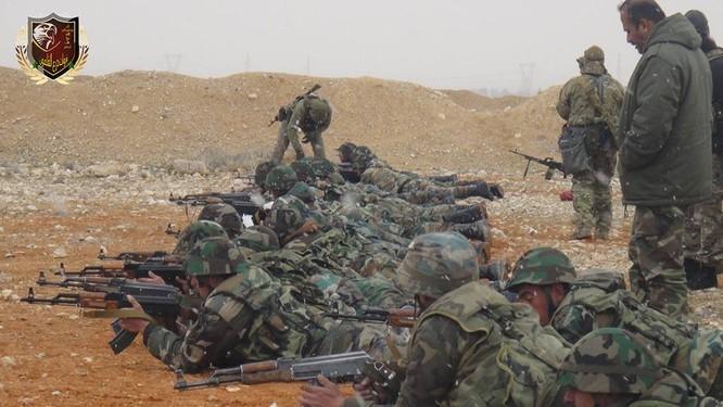 """Chiến sự Syria: Nga huấn luyện """"lên đời"""" quân Assad (ảnh) ảnh 8"""