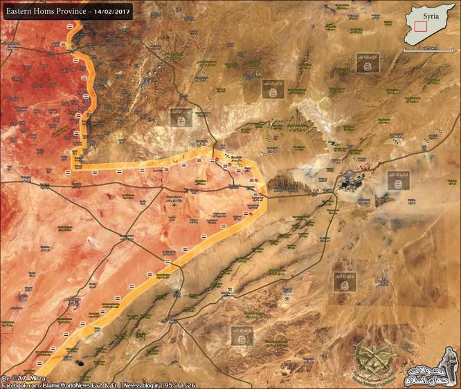 Quân Syria bẻ gãy cuộc tấn công phiến quân khủng bố, diệt hơn 60 tay súng ở Homs ảnh 1