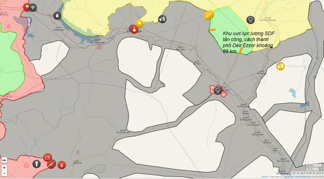 """Chiến sự Syria: Dân quân Kurd tiến công phong tỏa """"thủ đô"""" IS ảnh 2"""