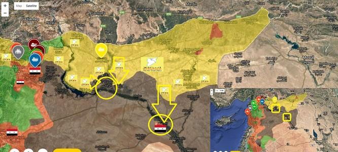 """Chiến sự Syria: Dân quân Kurd tiến công phong tỏa """"thủ đô"""" IS ảnh 1"""