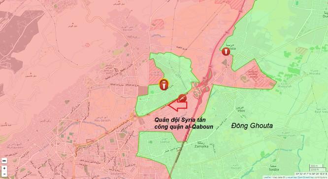 Quân đội Syria tiếp tục tấn công phiến quân ngoại vi Damascus ảnh 1