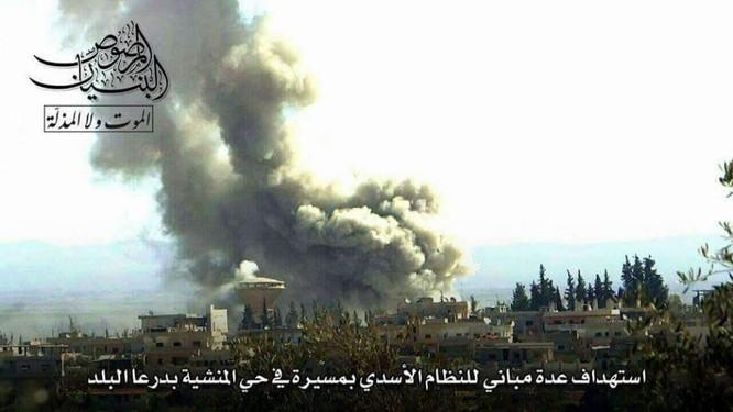 Chảo lửa Daraa: Quân Assad hỗn chiến với IS và phiến quân Hồi giáo ảnh 2