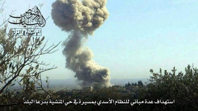 Chảo lửa Daraa: Quân Assad hỗn chiến với IS và phiến quân Hồi giáo ảnh 3