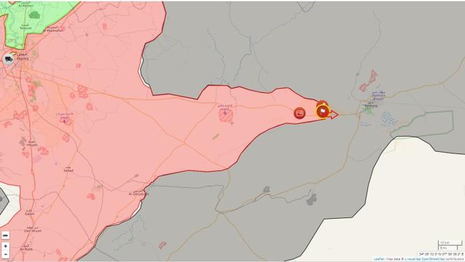 Chiến sự Palmyra: Quân đội Syria đánh chiếm thêm cứ địa IS (video) ảnh 1