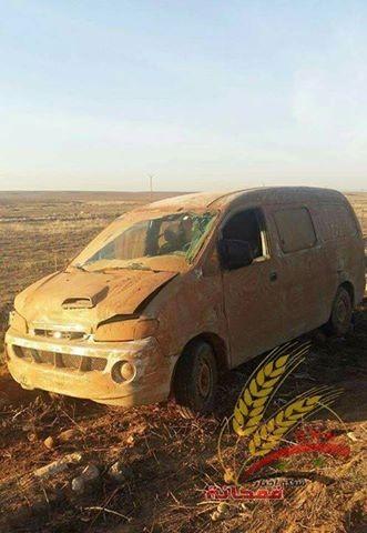 Chiến sự Syria: Sập bẫy phục kích, đoàn xe thánh chiến bị hốt gọn ảnh 1
