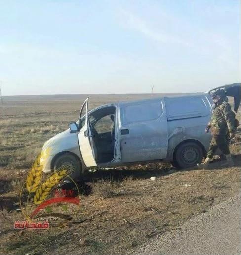 Chiến sự Syria: Sập bẫy phục kích, đoàn xe thánh chiến bị hốt gọn ảnh 2