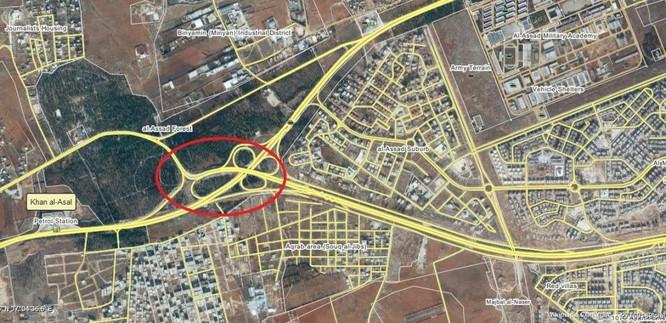 Quân Syria tập kích, chiếm cầu chiến lược ở đông Aleppo ảnh 1