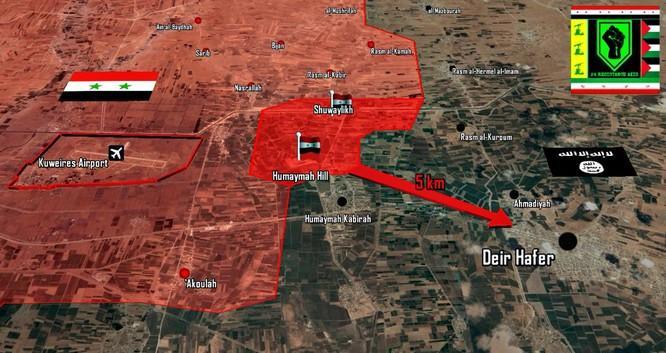 Chiến sự Syria: Thổ sa lầy trước IS, quân Assad sắp chiếm thị trấn chiến lược đông Aleppo ảnh 1