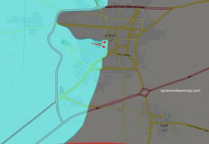 Chiến sự Al-Bab: Liên quân Thổ Nhĩ Kỳ tiến vào trung tâm sào huyệt IS (video) ảnh 1