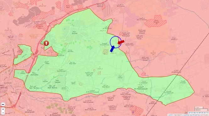 Phiến quân thánh chiến phản công trong khu vực Đông Ghouta ảnh 1