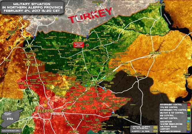 """Lực lượng """"Hổ Syria"""" đánh chiếm thêm chốt IS ở đông Aleppo ảnh 1"""
