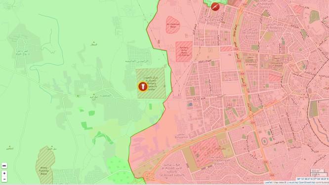 Không quân Nga tấn công, diệt hơn 20 chiến binh ở đông Aleppo ảnh 1