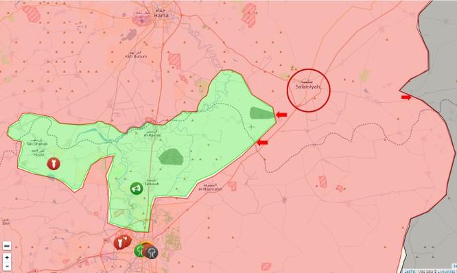 Quân đội Syria tiêu diệt hàng chục tay súng thánh chiến ở Hama ảnh 1