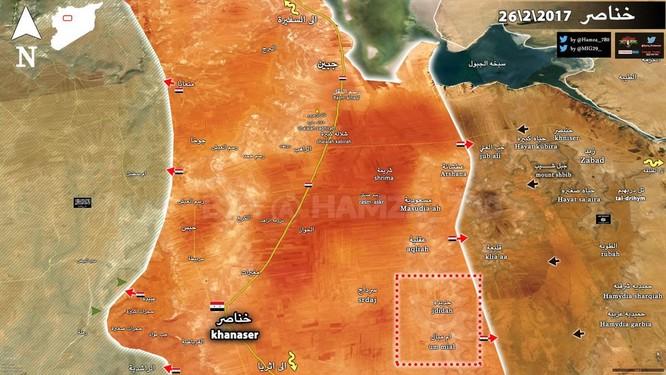 Quân đội Syria ào ạt tấn công IS tại đông nam Aleppo ảnh 1