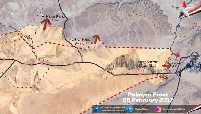 Chiến sự Palmyra: Quân đội Syria khống chế hỏa lực, sắp chiếm cứ địa IS ảnh 1
