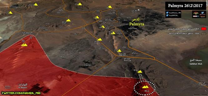Trận chiến Palmyra: Quân đội Syria điều binh, chuẩn bị đánh lớn tái chiếm thành cổ ảnh 1