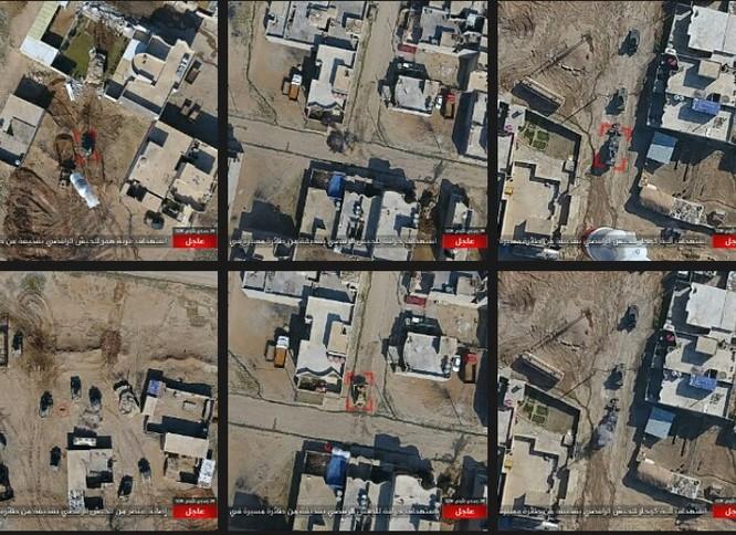IS không kích bằng UAV, phá hủy xe thiết giáp Iraq ảnh 5